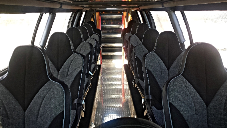 Sin City Hustler - the world's first luxury monster truck-interior