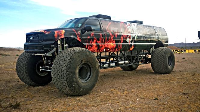Sin City Hustler - the world's first luxury monster truck