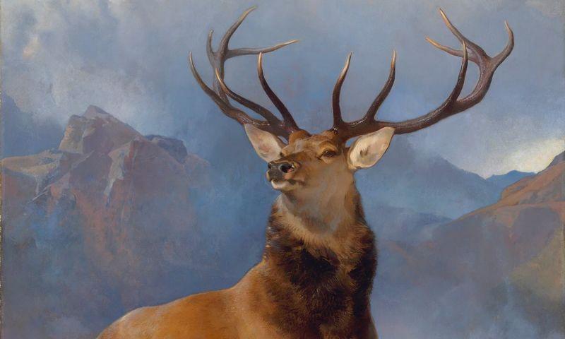 sir-edwin-landseer-the-monarch-of-the-glen