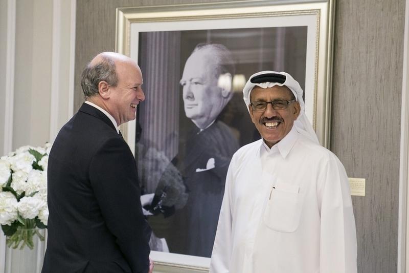 Sir Winston Churchill Suite - St Regis Dubai-01