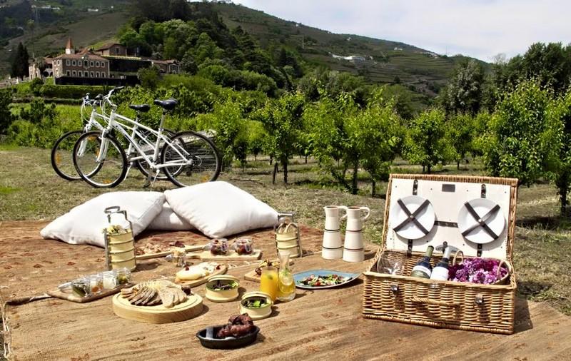 Six Senses Douro Valley picknicking