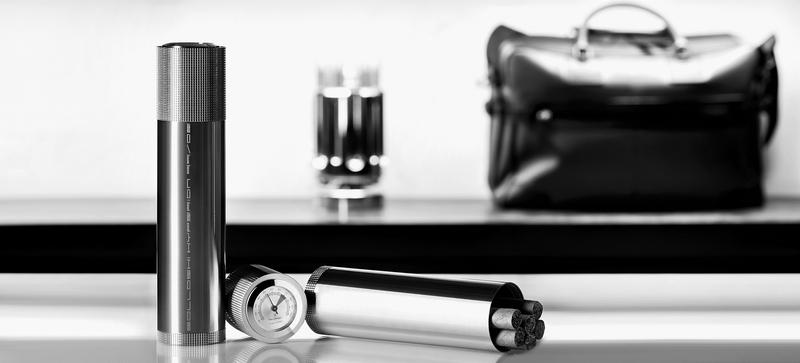 Solloshi tube -the most luxururious cigar tube design you've ever seen