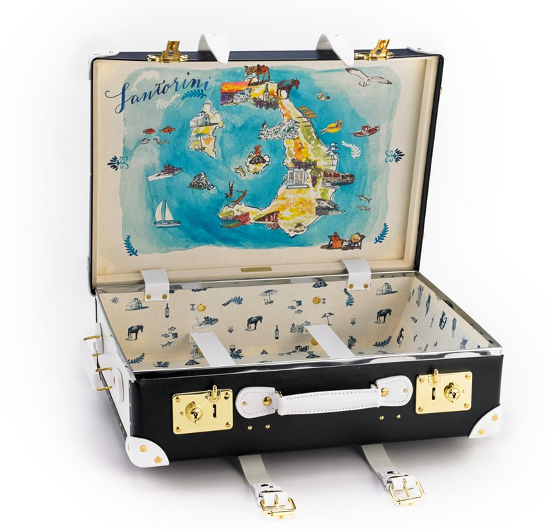 Sophia Sanchez de Betak for The Luxury Collection Limited edition travel suitcase-
