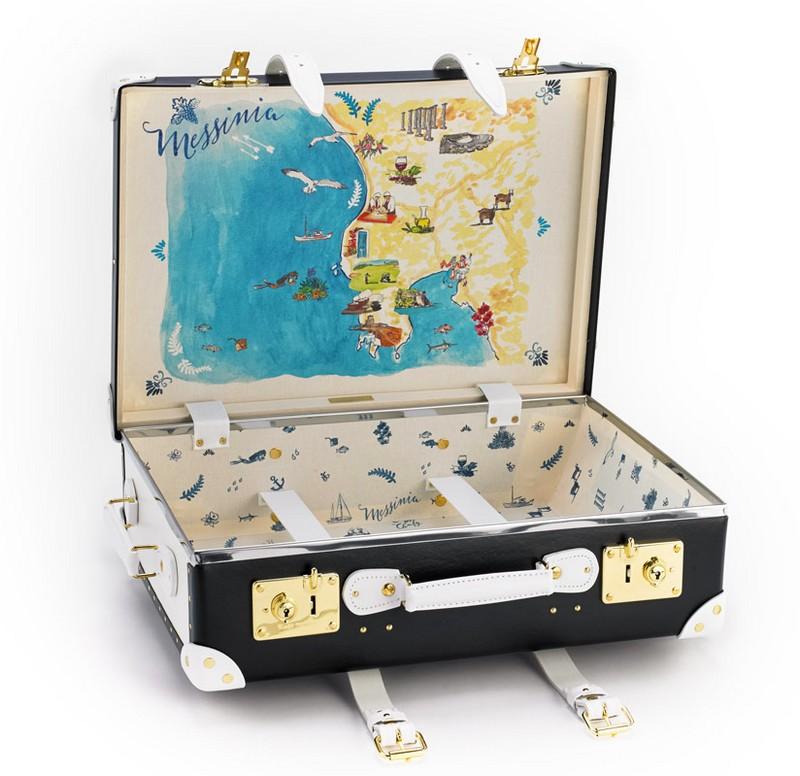 Sophia Sanchez de Betak for The Luxury Collection Messinia Limited edition travel suitcase