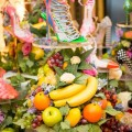 Sophia Webster Harrods- London's Most Luxurious Fruit Stall-The Lacey on display at Harrods