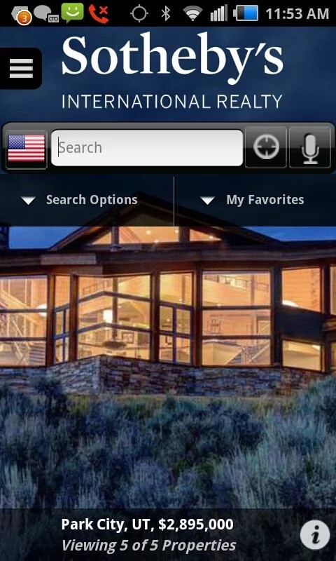 Sotheby's International Realty app