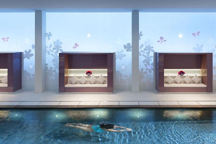 Spa Swimming Pool - Mandarin Oriental Paris -paris-spa-pool