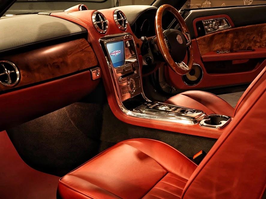 Speedback GT interior