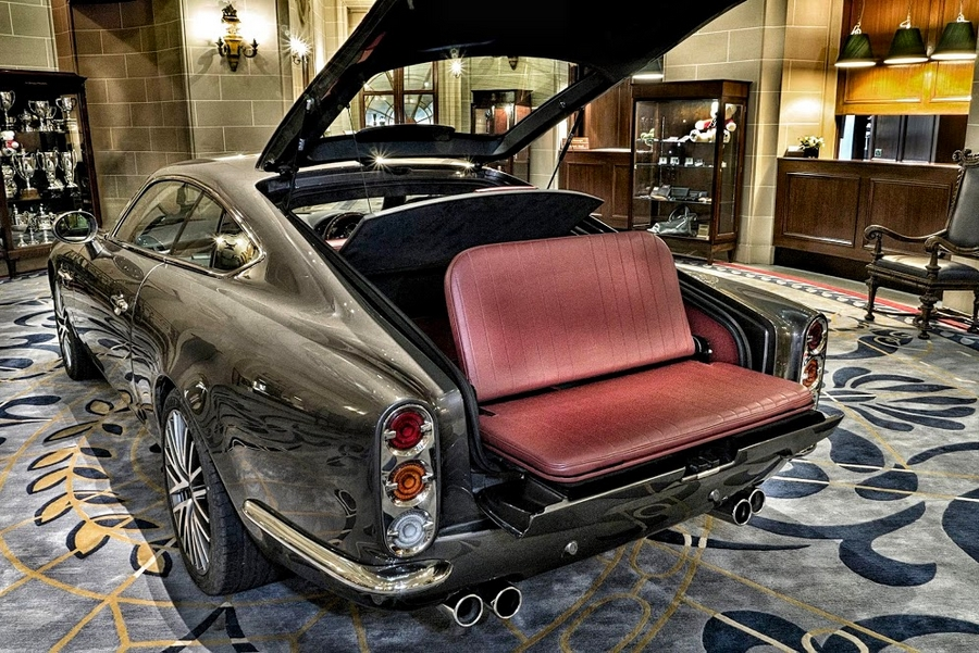 Speedback GT luggage
