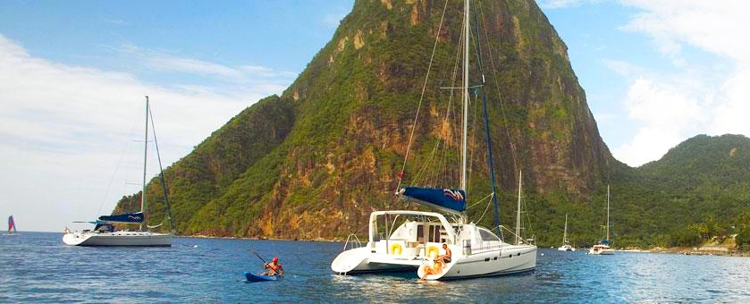 St-Lucia-exploring by water