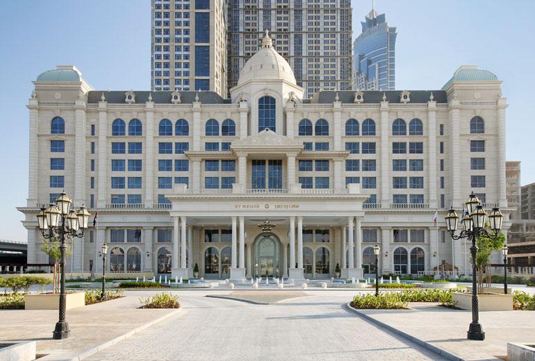 St Regis Dubai exterior