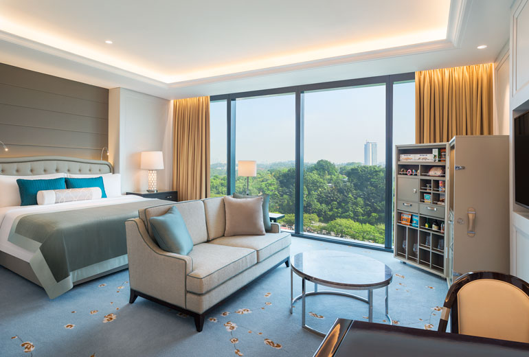 St Regis Kuala Lumpur-luxury hotel Malaysia - the guest room