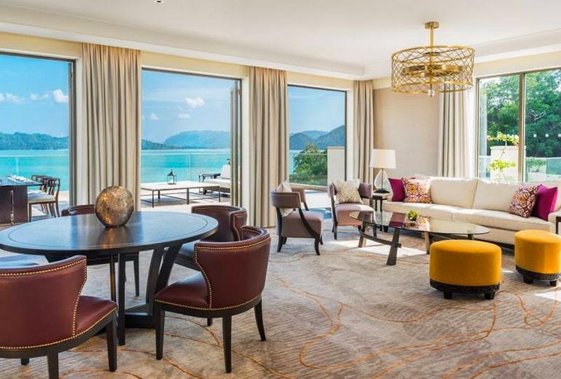 St Regis Langkawi Malaysia 2016 luxury resort- interior