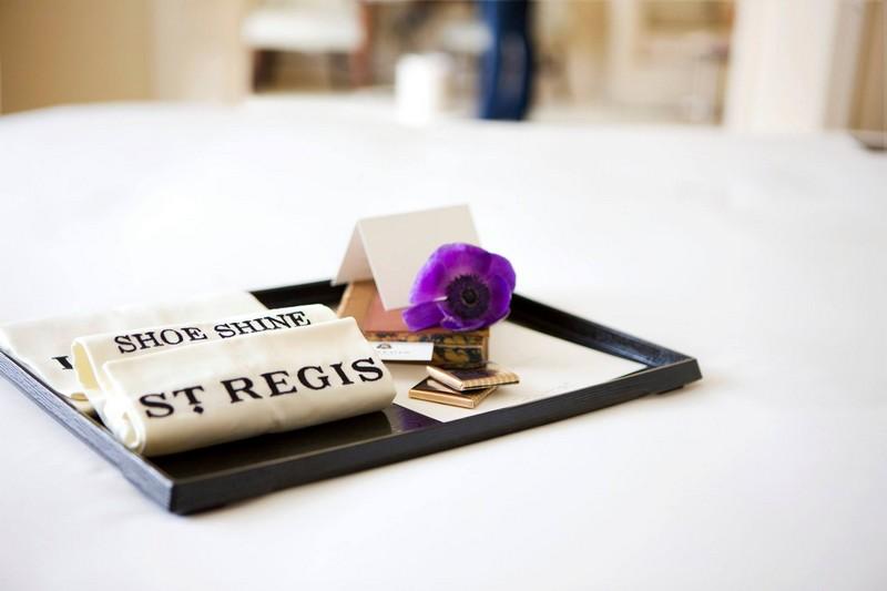 St Regis Mumbai hotel - shoes shine