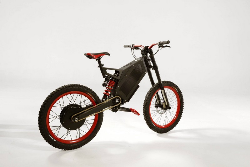 Stealth Electric Bikes in red