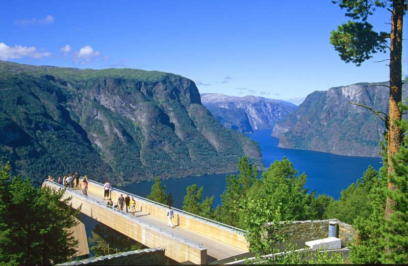 Stegastein viewpoint, Aurlandsvegen