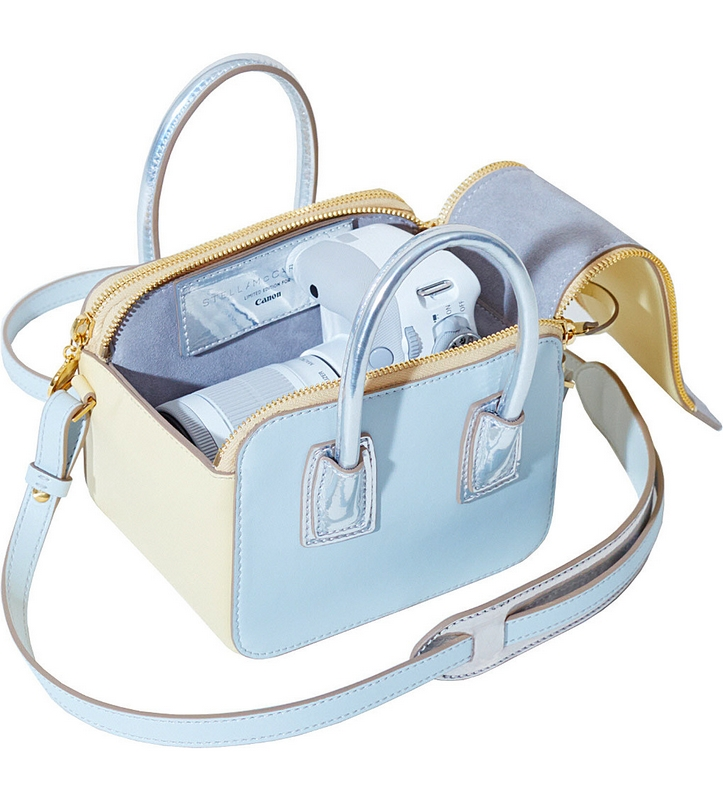 Stella McCartney x Canon Linda Bag and eos camera-limited edition