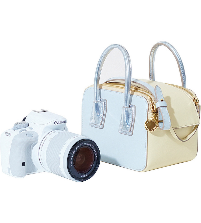 Stella McCartney x Canon Linda Bag and eos camera