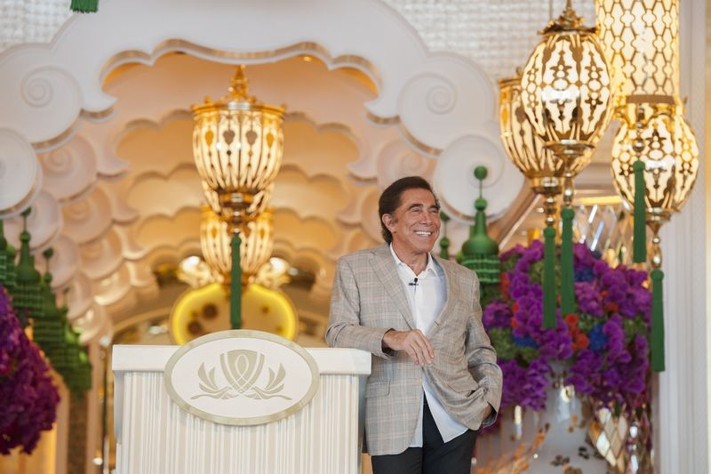 Steve Wynn hosted a press conference ahead of the opening of his new resort, Wynn Palace, in Cotai, Macau on August 22, 2016