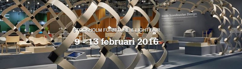 Stockholm furniture and light fair 2016