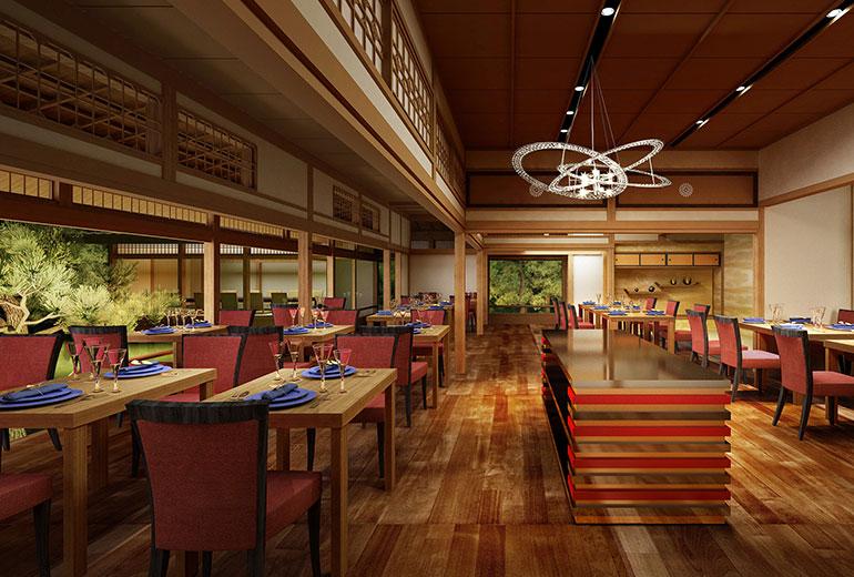Suiran Luxury Hotel Kyoto-Restaurant