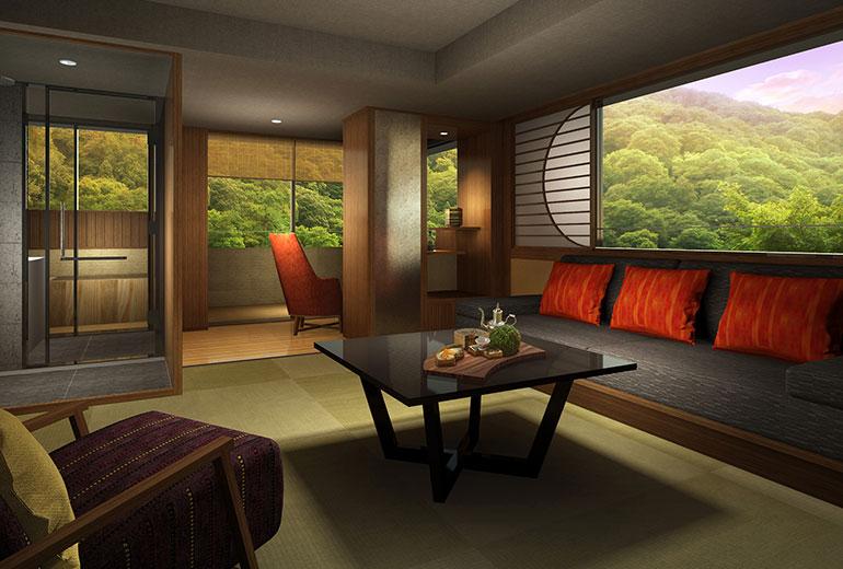 Suiran Luxury Hotel Kyoto-Room View