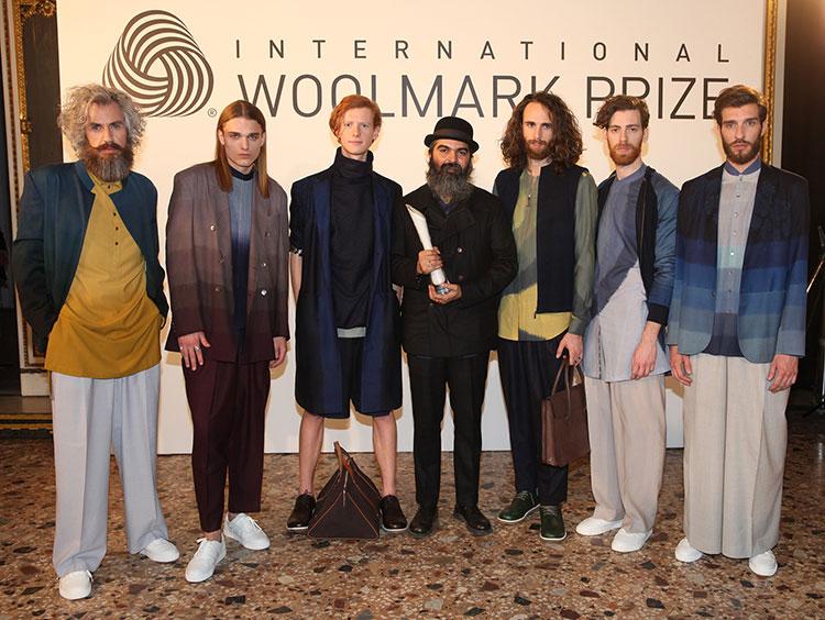 Suketdhir wont the 2016 Woolmark Prize Menswear Award 2015