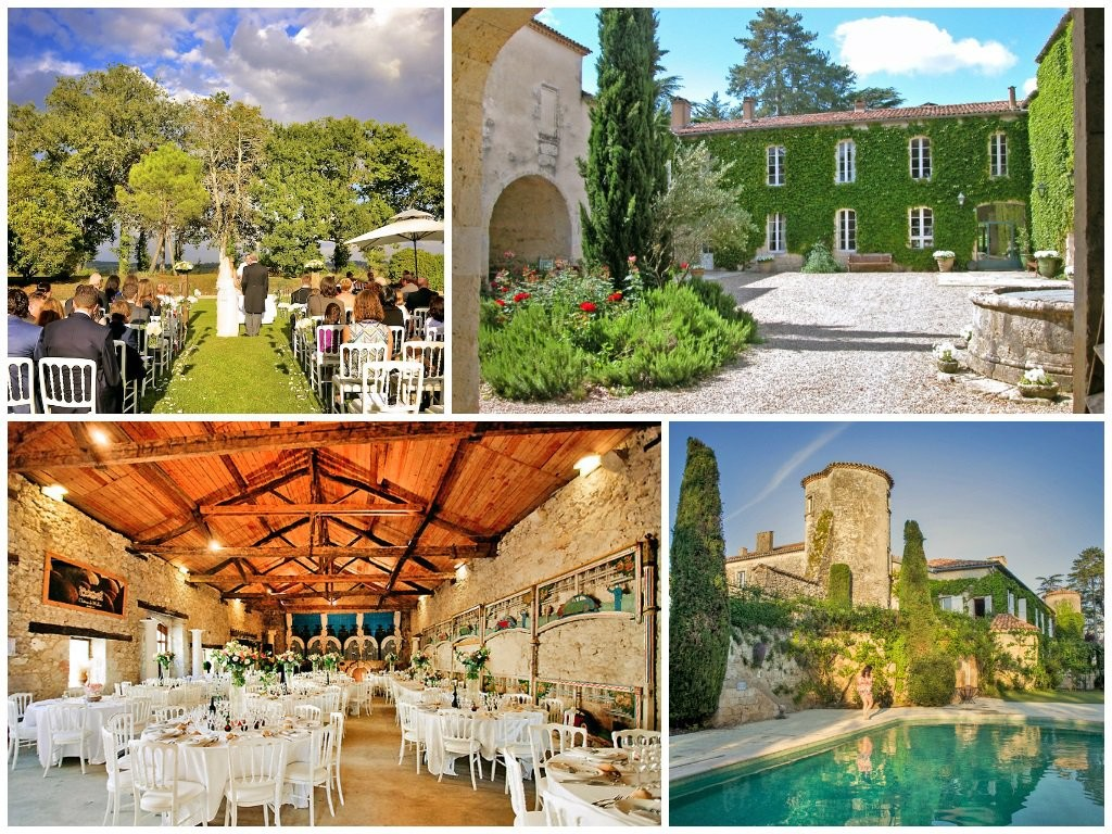 SunnyWedding-Chateau Bellevie, Gascony