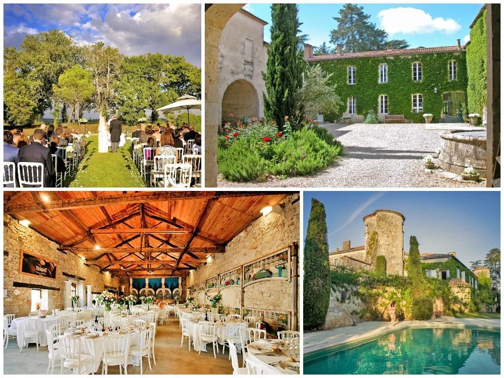 SunnyWedding-Chateau Bellevie, Gascony