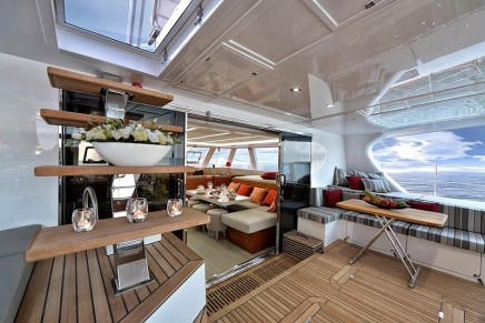 58 ft Dragon Fly – the new Sailing Catamaran by Sunreef Yachts