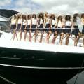 Sunseeker International - at Fort Lauderdale International Boat Show - Manhattan 65 and 75 motor yachts