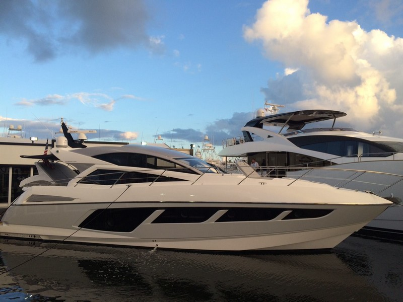SunseekerOnShow at For Lauderdale International Boat Show 2015-001
