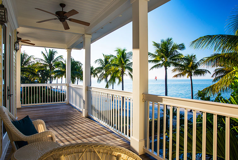 Sunset Key Cottages, a Luxury Collection Resort, Key West--4 Bedroom Cottage Balcony