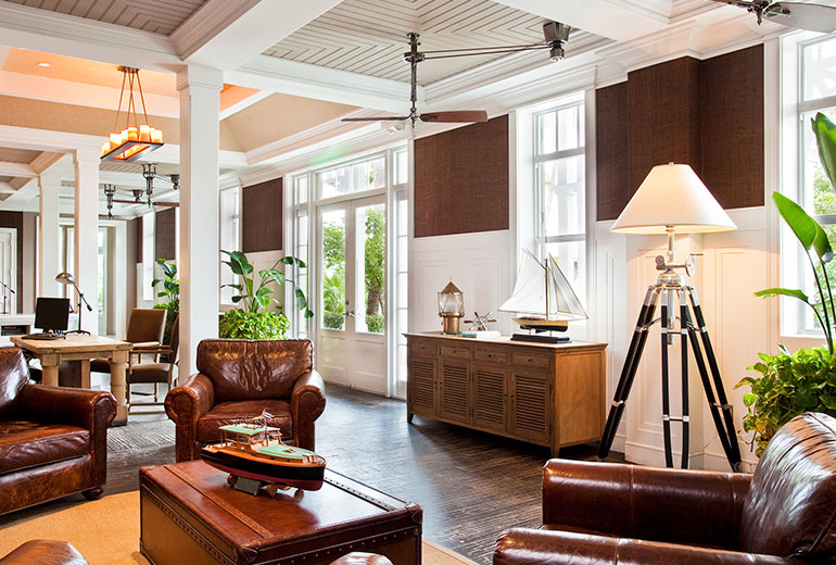 Sunset Key Cottages, a Luxury Collection Resort, Key West-Lobby Wide