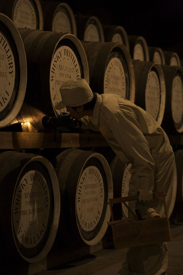 Suntory Distillery Casks