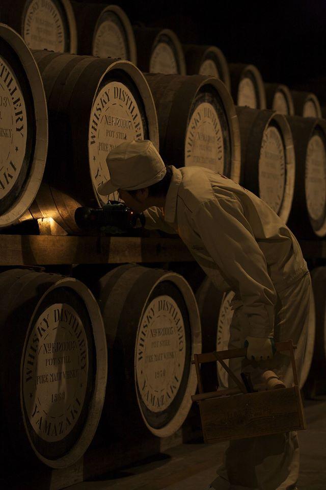 Suntory Distillery Casks