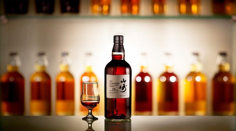 Suntory Yamazaki Japanese Whisky bottle