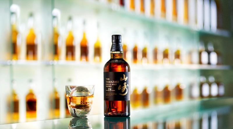 Suntory Yamazaki Whisky bottle