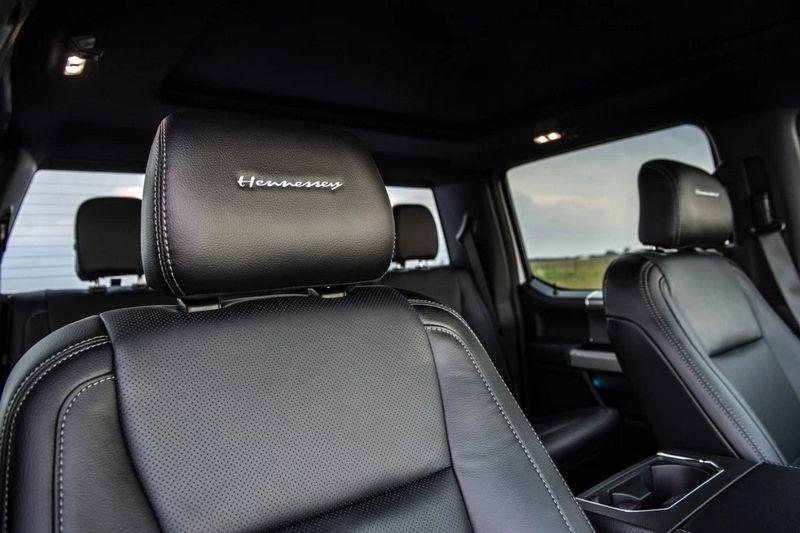 Super Limited and fierce Hennessey 25th Anniversary VelociRaptor 700 interior