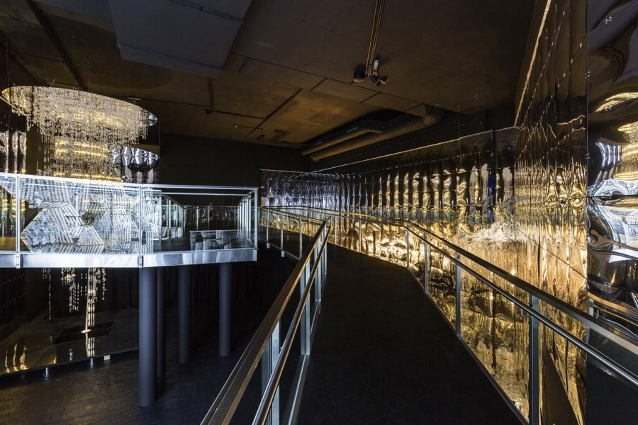 Swarovski Kristallwelten 2015-Into Lattice Sun