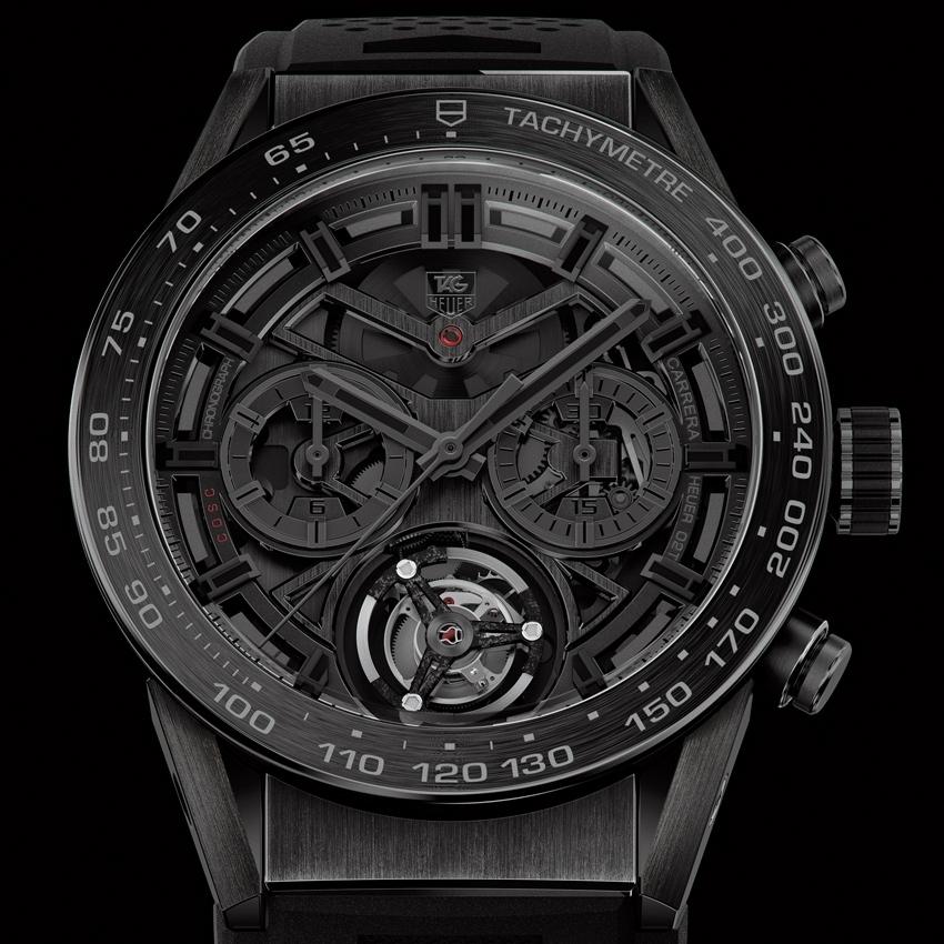 TAG HEUER Carrera Heuer-02T Black Phantom watch-