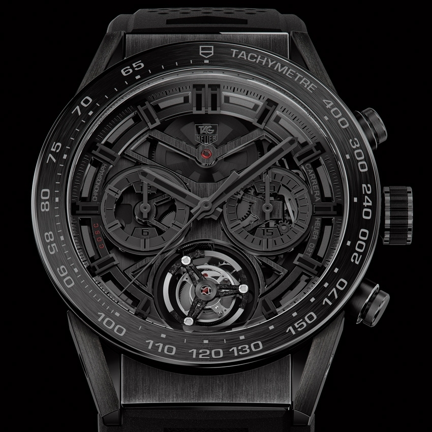 TAG HEUER Carrera Heuer-02T Black Phantom watch-