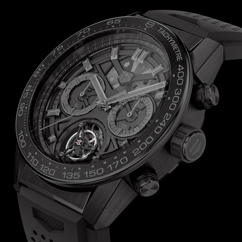 TAG HEUER Carrera Heuer-02T Black Phantom watch