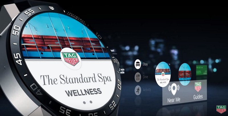 TAG Heuer Connected Watch  - spa