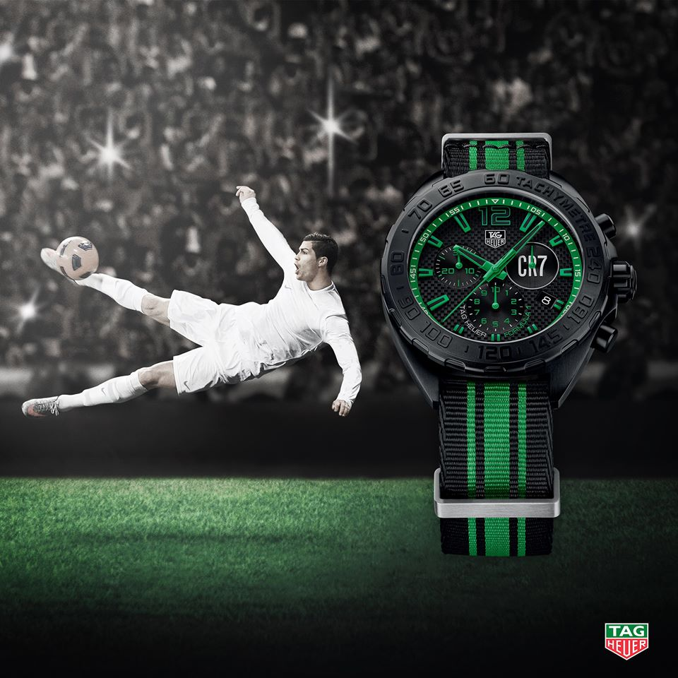 TAG Heuer Formula 1 CR7 Special Edition inspired by Cristiano Ronaldo