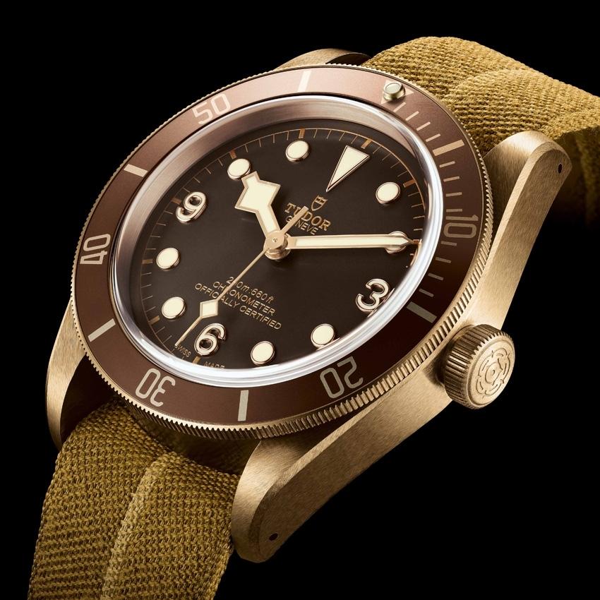 TUDOR Heritage Black Bay Bronze watch