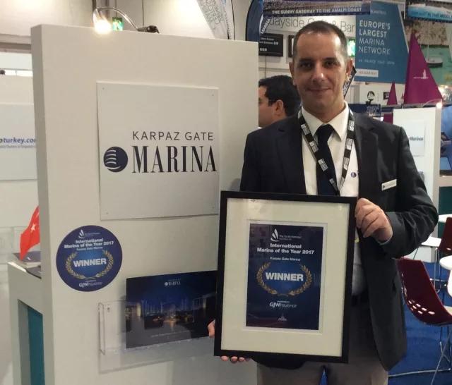 TYHA International Marina of The Year 2017 Award won by Karpaz Gate Marina-