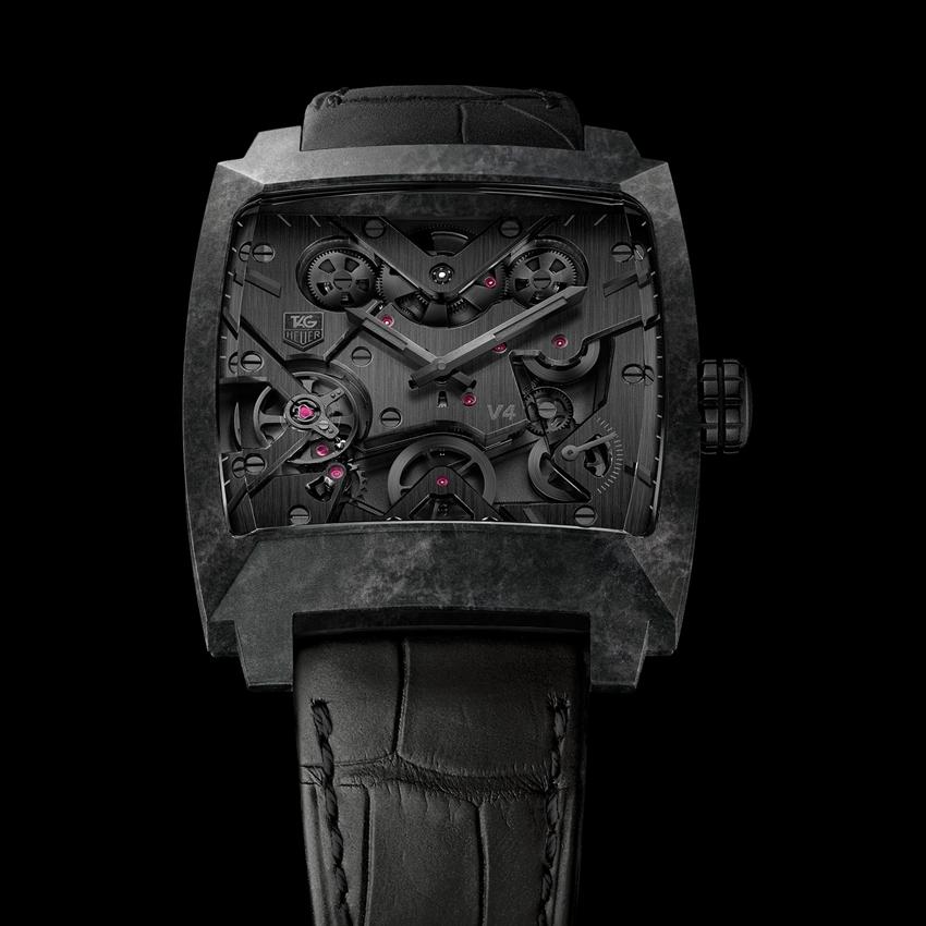Tag Heuer Monaco V4 Phantom watch