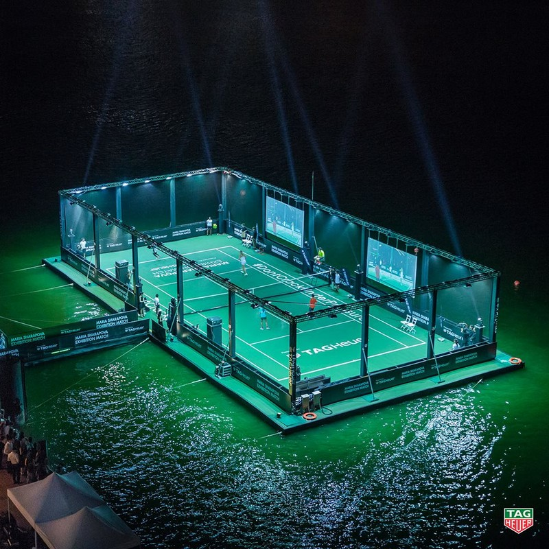 Tag Heuer - Singapore's first floating tennis platform 2015-001