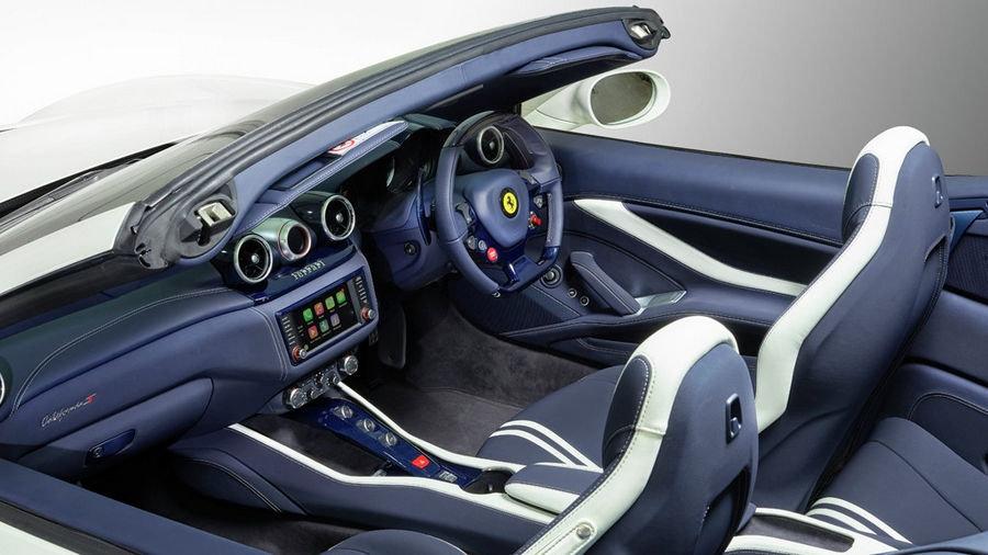 Tailor Made California T at the Goodwood Festival of Speed-interior micro prestige